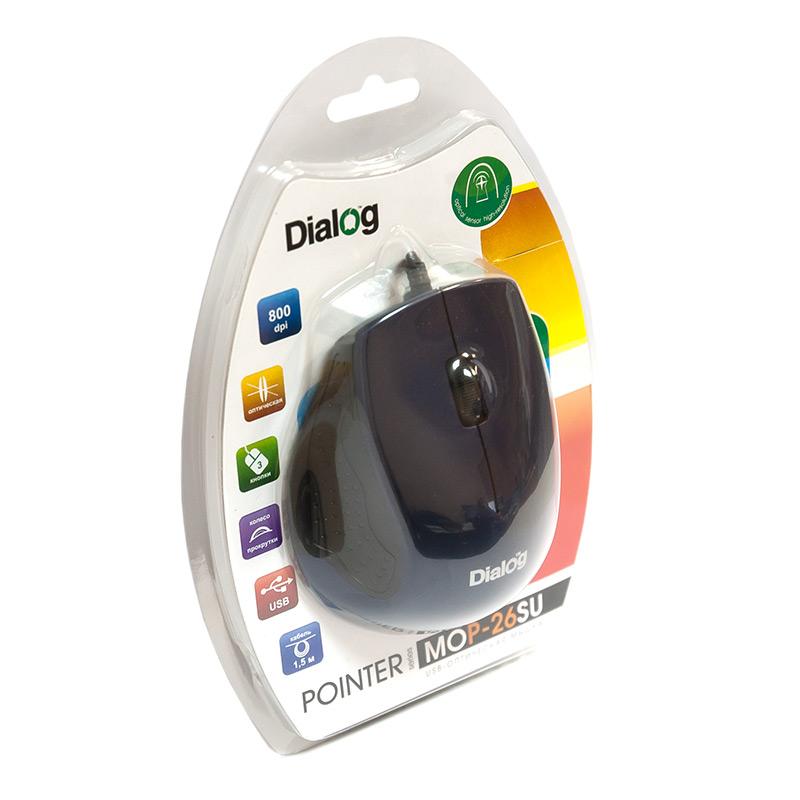 Мышь Dialog MOP-26SU USB