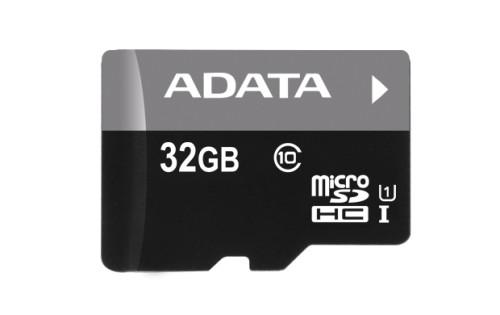 Карта памяти MicroSD 32Гб кл.10 с адап. AData
