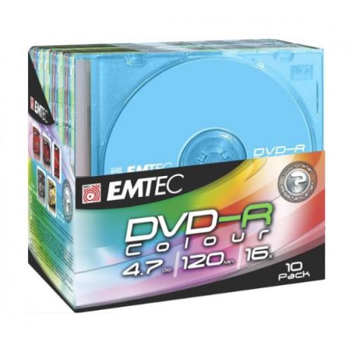 Компакт-диск DVD-R 4.7 Гб цветной