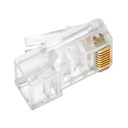 Коннектор RJ45 для обжима интернет кабеля 1шт.