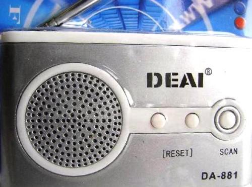 Радиоприемник FM <DEAI DA-881>