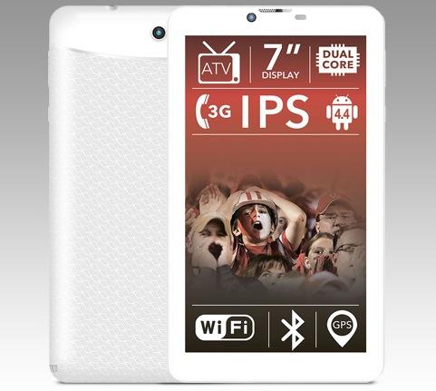 Планшетный компьютер BQ-7056G 7″ IPS 2 ядра х 1.3 GHz 4GB GPS 3G режим телефона Android 4.4