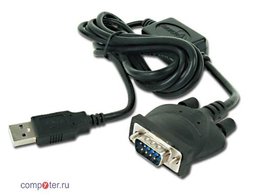 Кабель переходник USB to COM (RS-232)