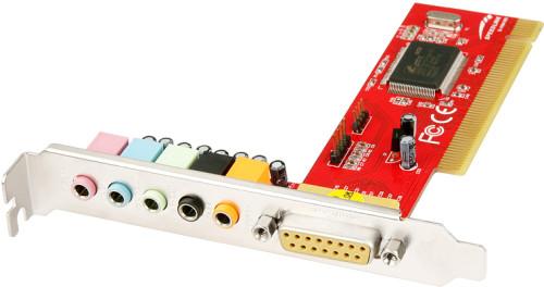 Звуковая карта SPEED-LINK STAGE 4-канальная PCI