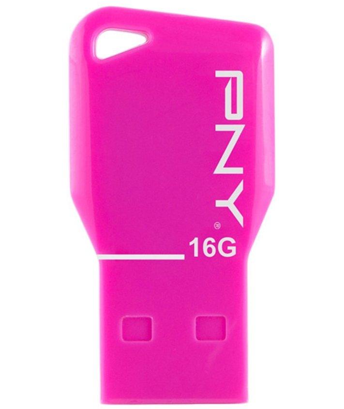 Флэшка 16Гб PNY Key Pink @@@@@