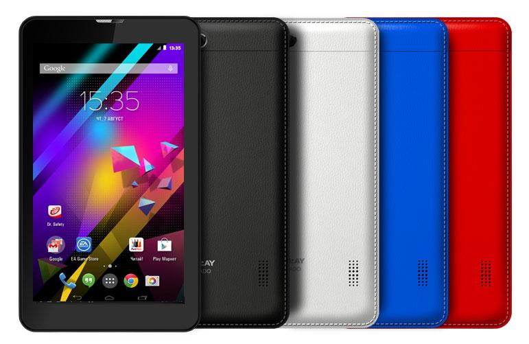 Планшетный компьютер Explay Tornado 3G 7″ 1024×600 4×1.3GHZ 1GB 8GB BT 2 симки GPS Android 4.4