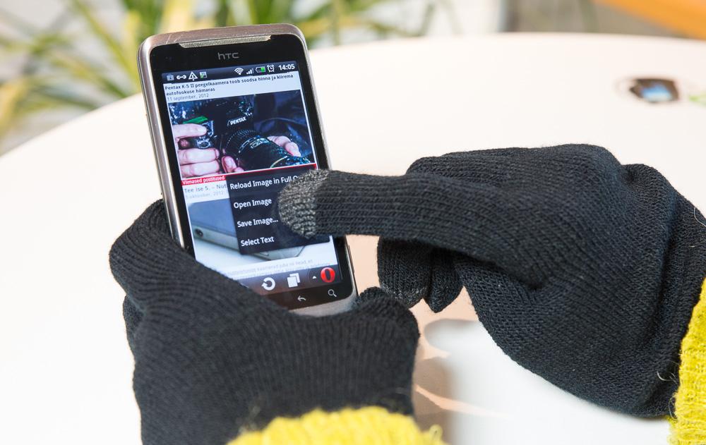 Перчатки для сенсорных экранов SPEED-LINK CALOR