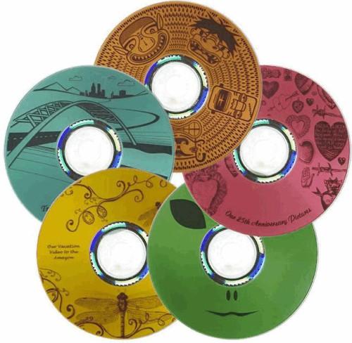 Компакт-диск DVD+R 4.7 Гб Slim LIGHTSCRIBE
