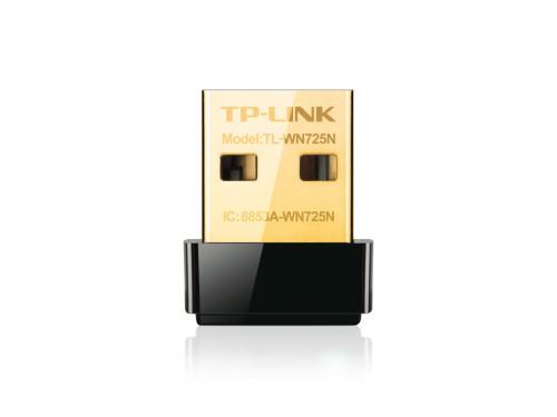 Адаптер сетевой беспроводной USB TP-Link TL-WN725N Nano