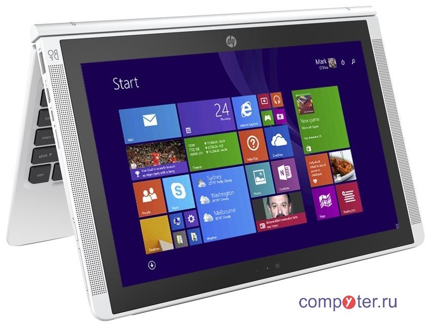 Ноутбук-трансформер HP 10.1″ Pavilion Detach x2 10-n010nl Atom Z3736F 1.33GHz QC 2Gb 32Gb Win8.1 белый
