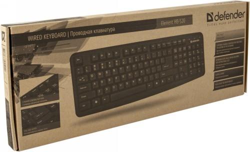 Клавиатура Defender Element HB-520 (серый) USB