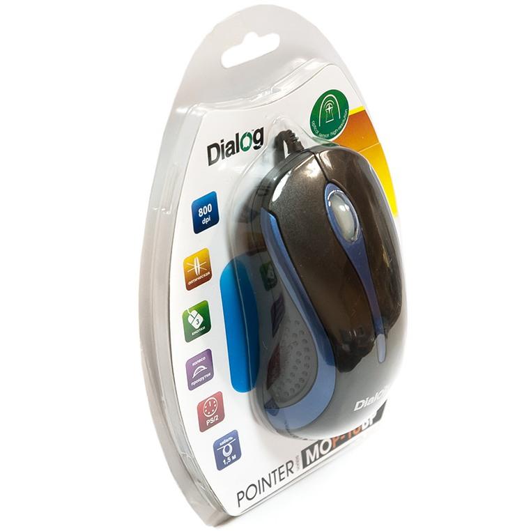 Мышь Dialog MOP-10BU USB