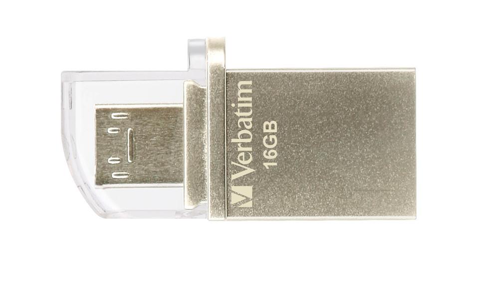 Флэшка 16Гб USB3 Verbatim OTG Micro 49825 @@@@@