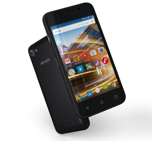 Смартфон Archos 4″ 8Gb 2сим Камеры5/2Мп GPS Android 5.1 Пленка Гарнитура